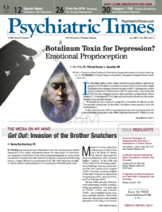 psychiatric times cover